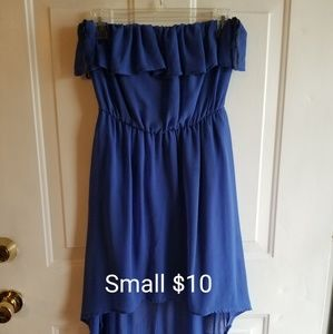 Dresses & Skirts - Strapless High-Low dress